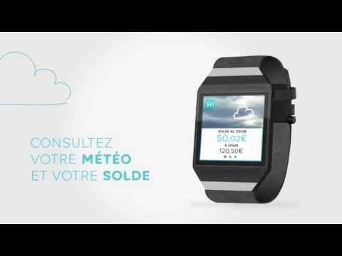 application pour smartwatch
