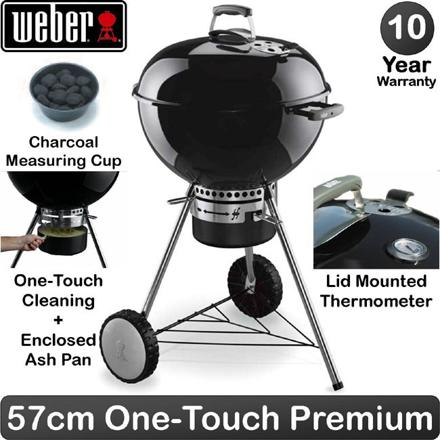 barbecue weber 57 cm one touch premium