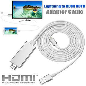 cable iphone 5 vers hdmi