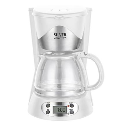 cafetiere blanche programmable