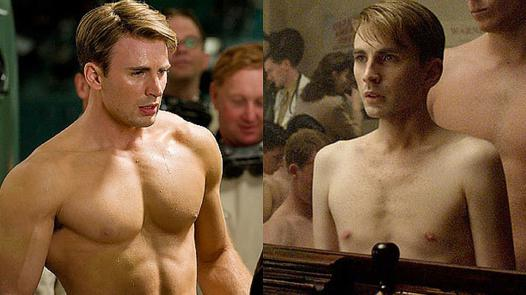 captain america musculation
