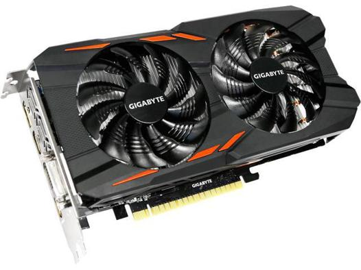 gigabyte geforce gtx 1050 ti windforce oc 4 go
