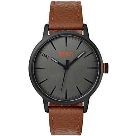 montre cuir marron