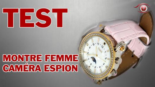 montre homme camera espion