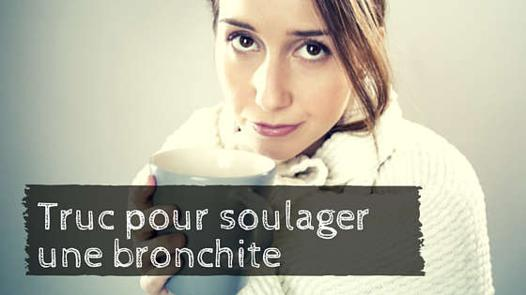 soulager une bronchite