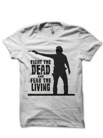 t shirt walking dead
