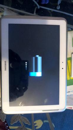 tablette samsung charge plus