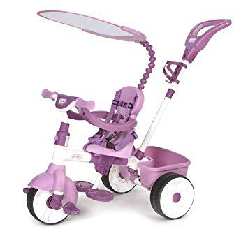 tricycle evolutif rose