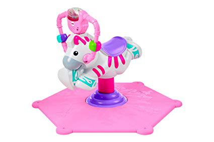 zebre rose fisher price