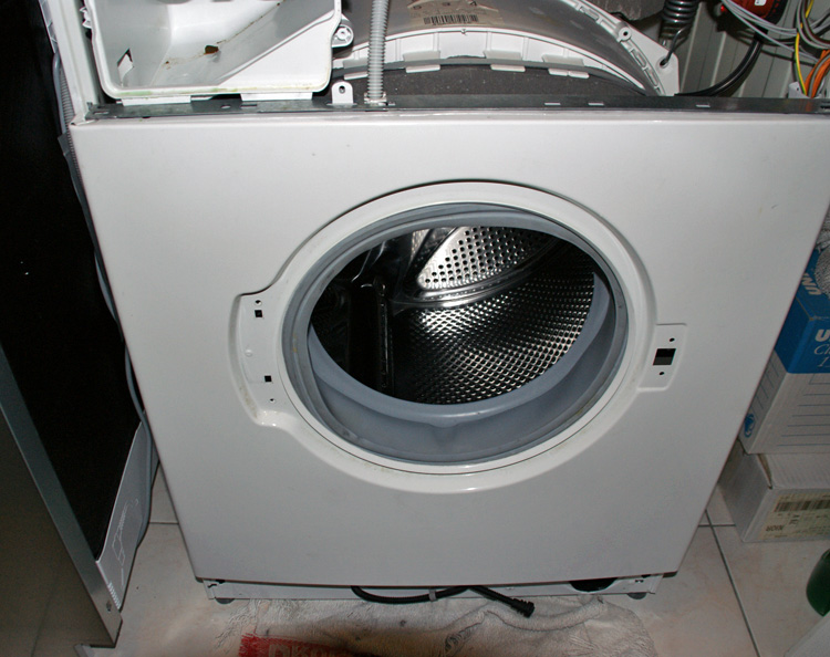demonter lave linge
