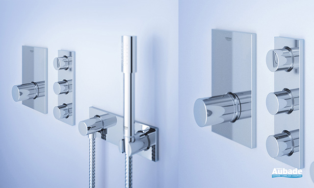 douche grohe encastrable