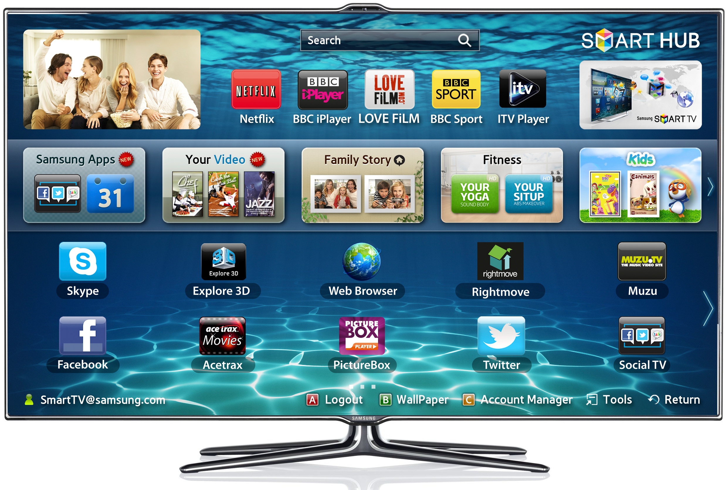 ecran tv led samsung