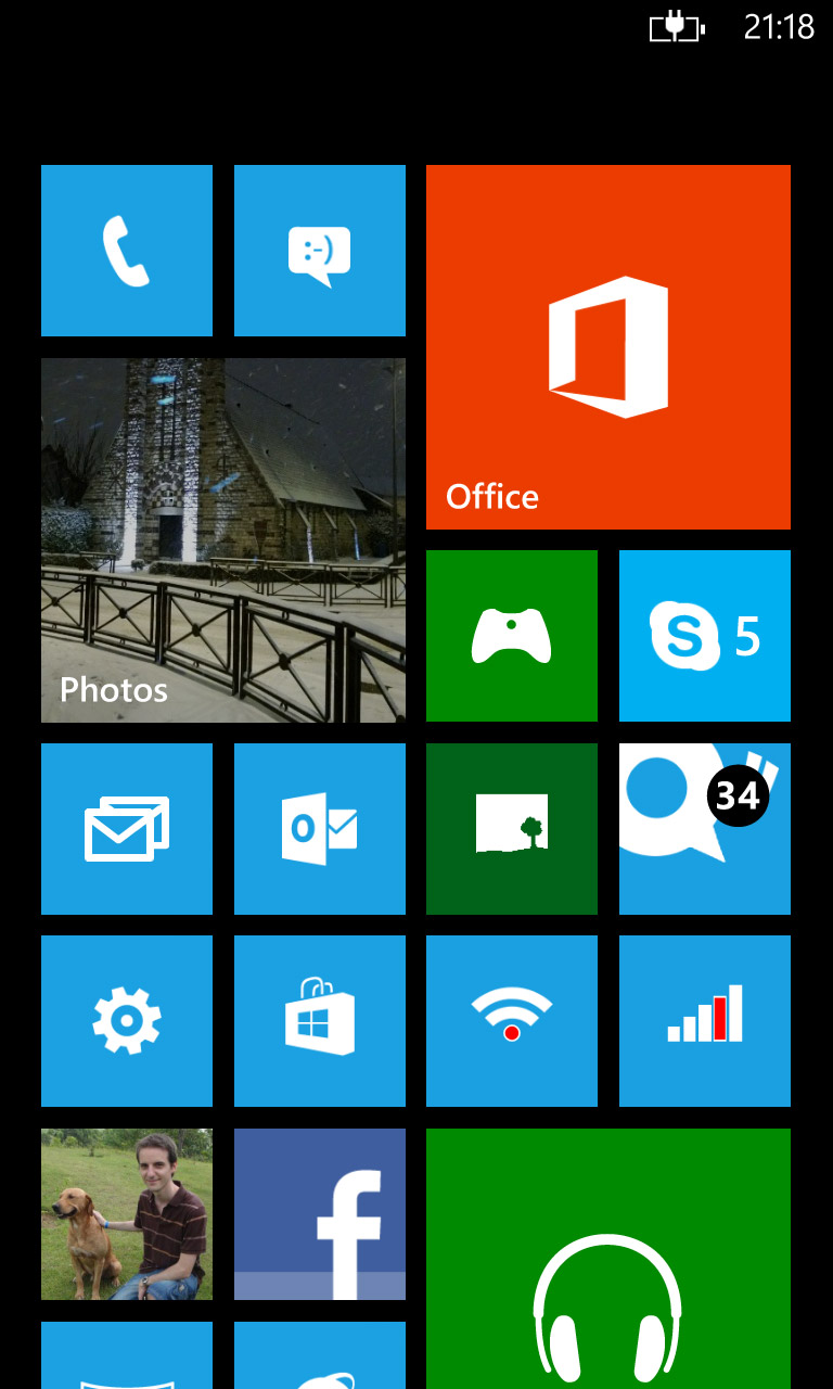 ecran windows phone