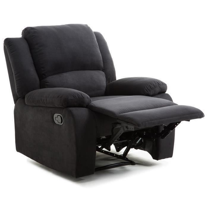 fauteuil relaxation tissu