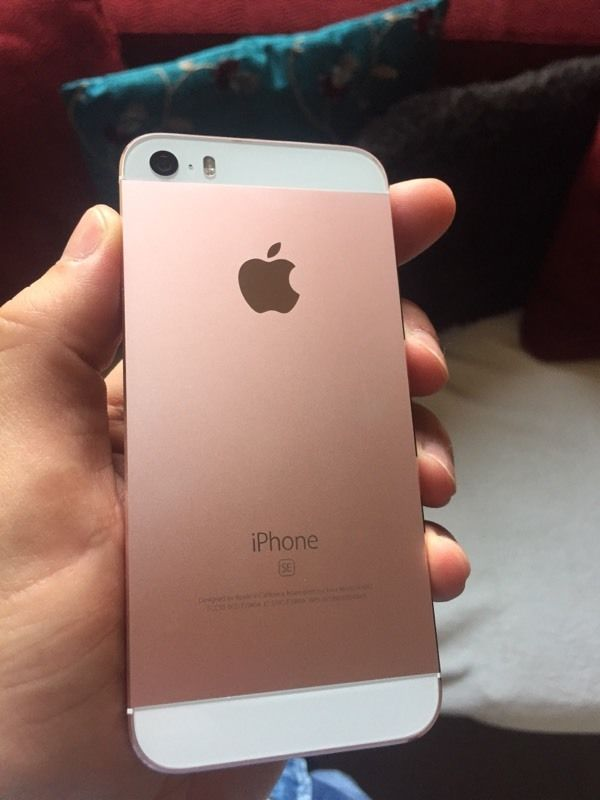 iphone 5s or rose