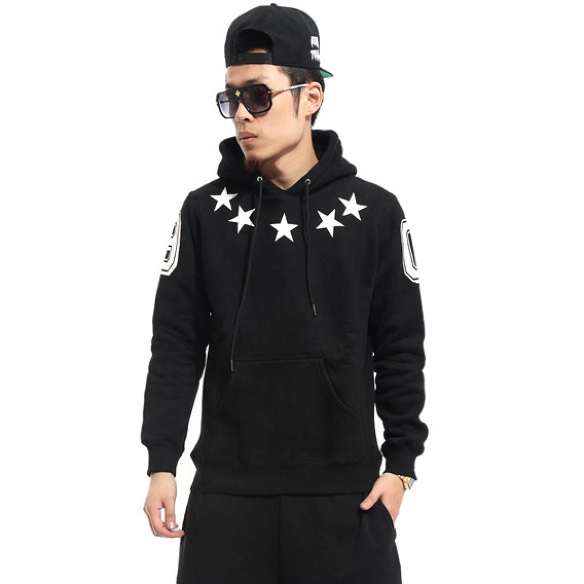 pull homme swag avec capuche